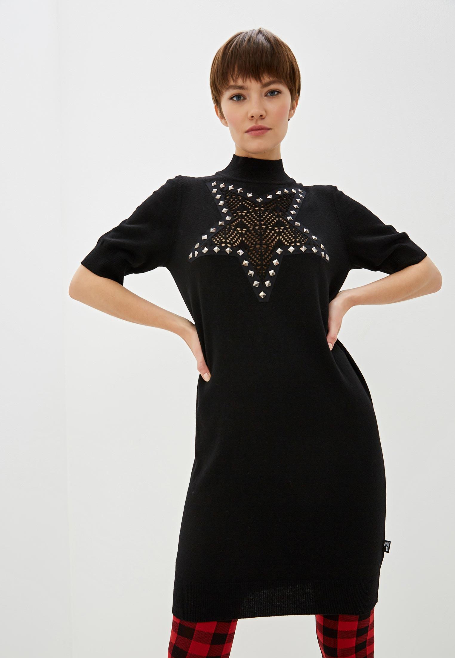 Вязаное платье Love Moschino WSR1611X0683C74: изображение 1