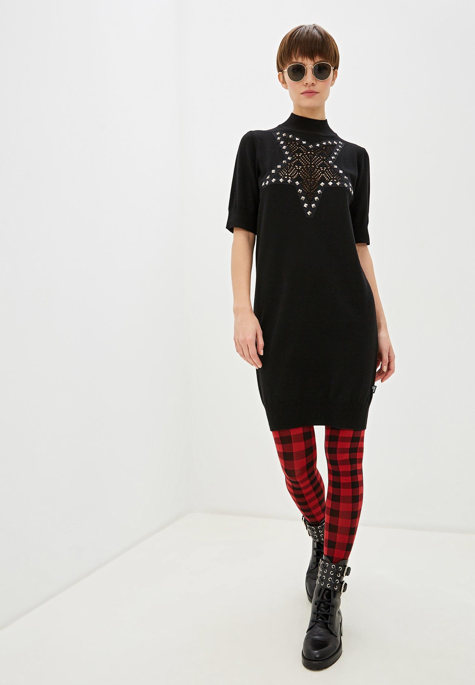 Вязаное платье Love Moschino WSR1611X0683C74: изображение 2