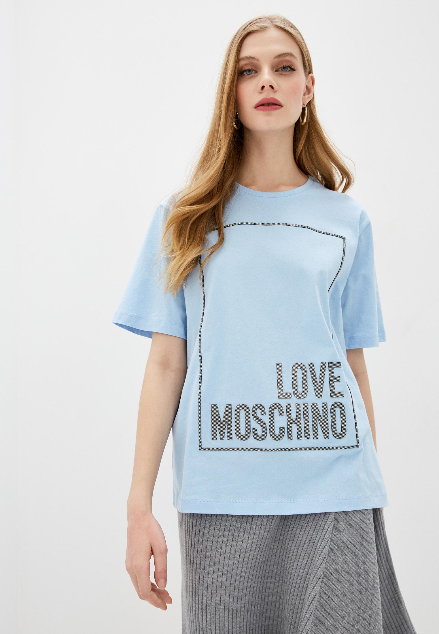 Футболка с коротким рукавом Love Moschino W 4 F87 31 M 3876