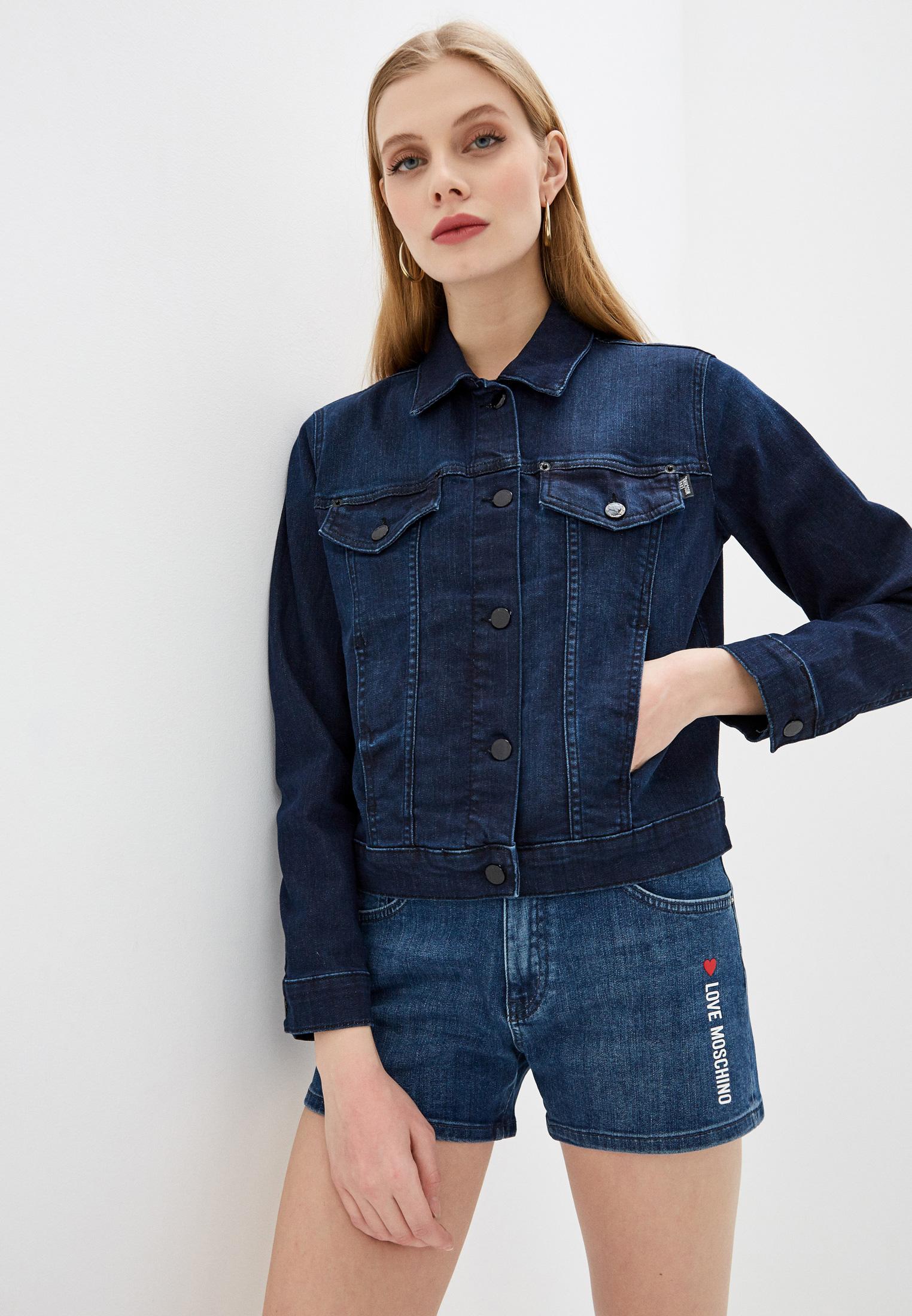 Джинсовая куртка Love Moschino W H 609 09 S 3386