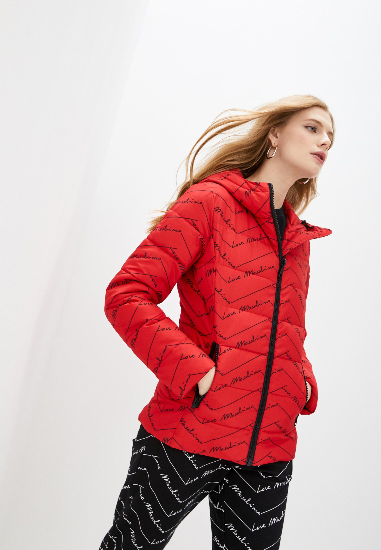 Утепленная куртка Love Moschino W H 751 00 T 043A