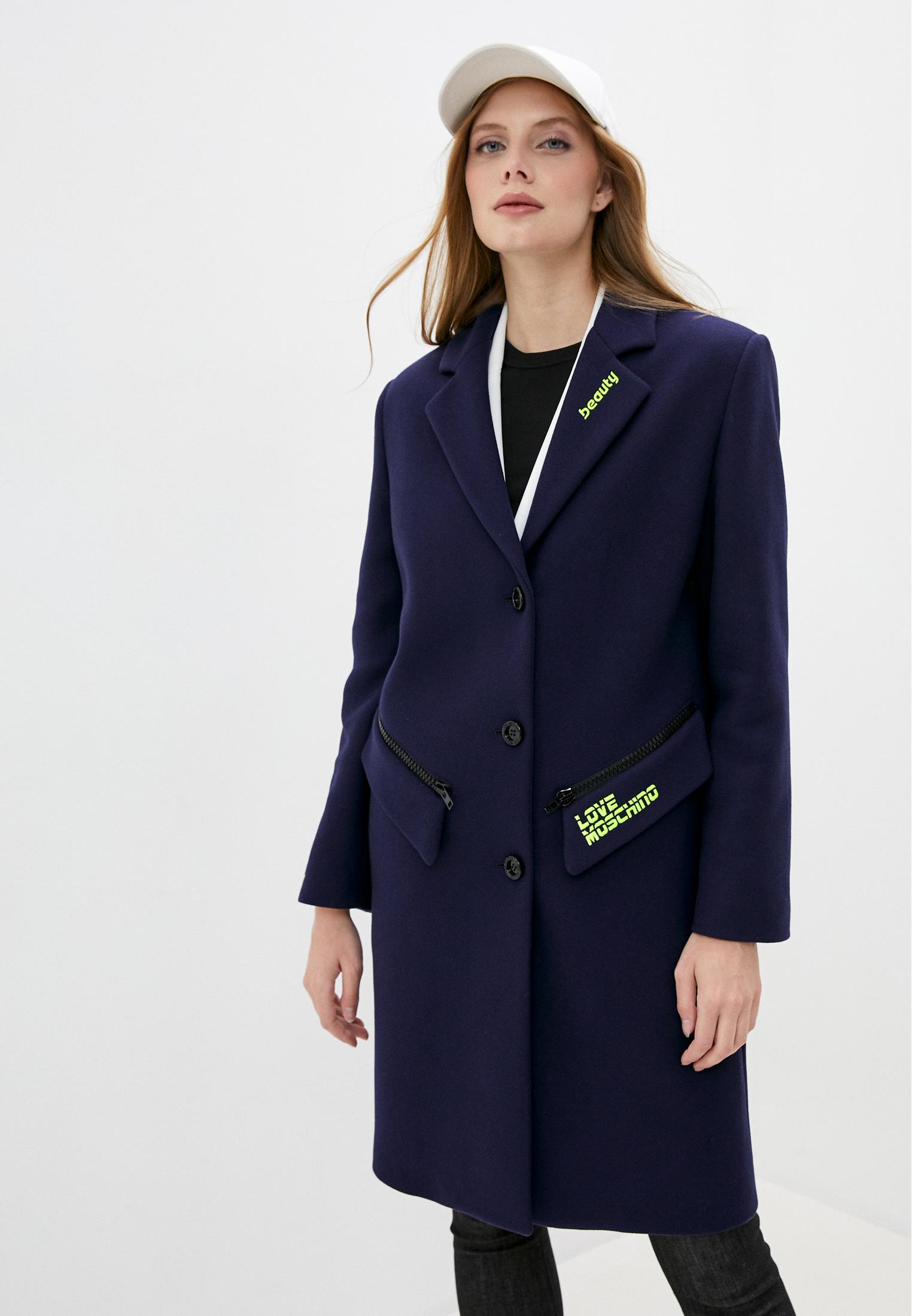 Женские пальто Love Moschino (Лав Москино) W K 492 01 T 008A