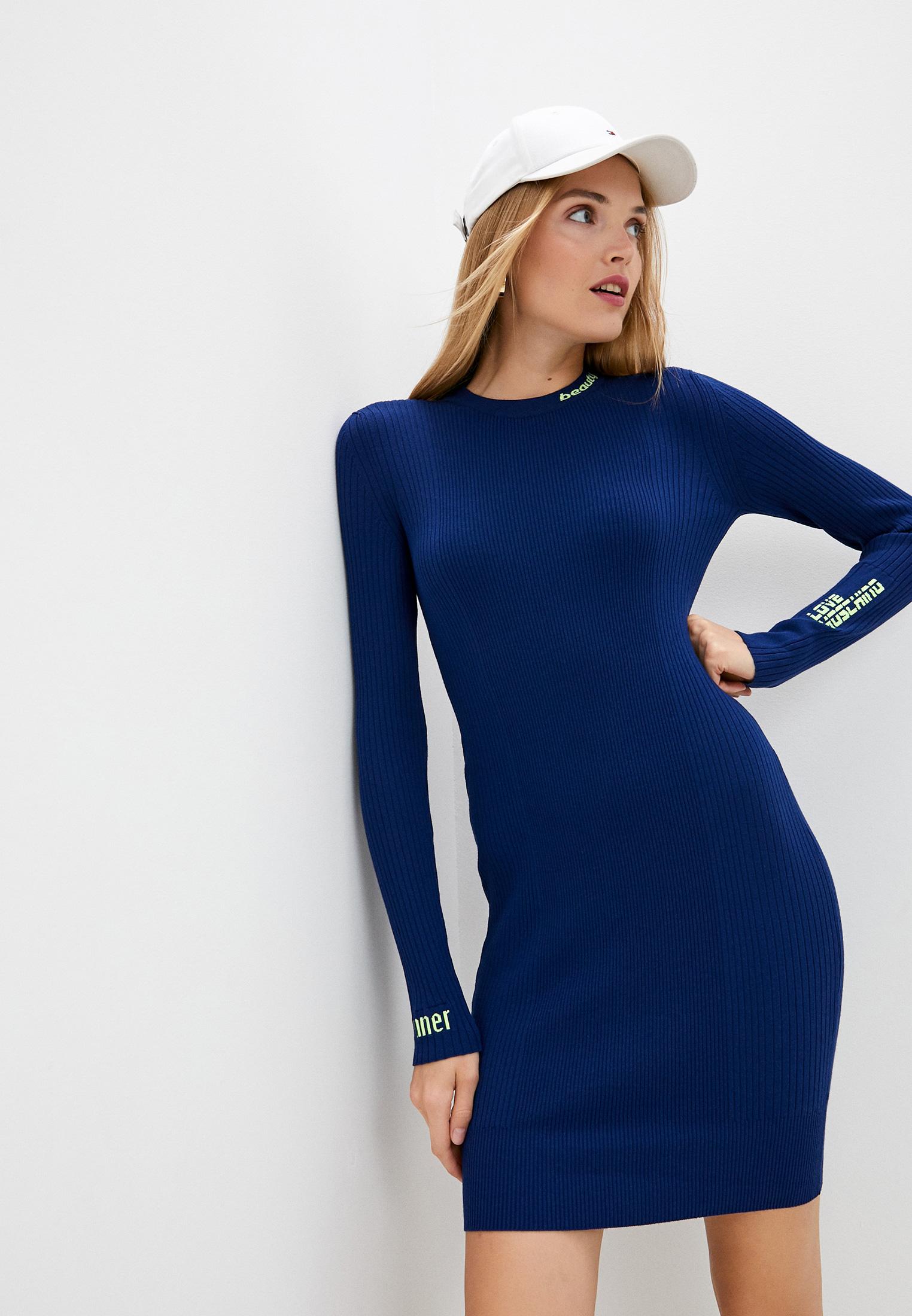 Вязаное платье Love Moschino W S 14R 10 X 0844