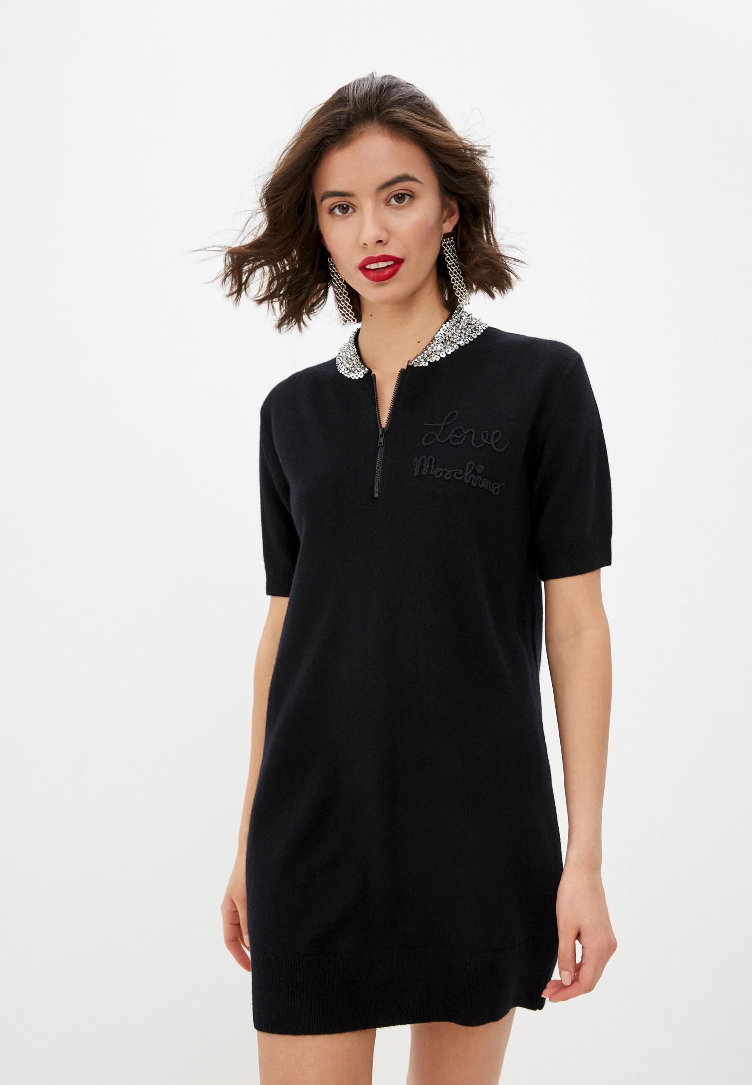 Вязаное платье Love Moschino WS41S01X1150