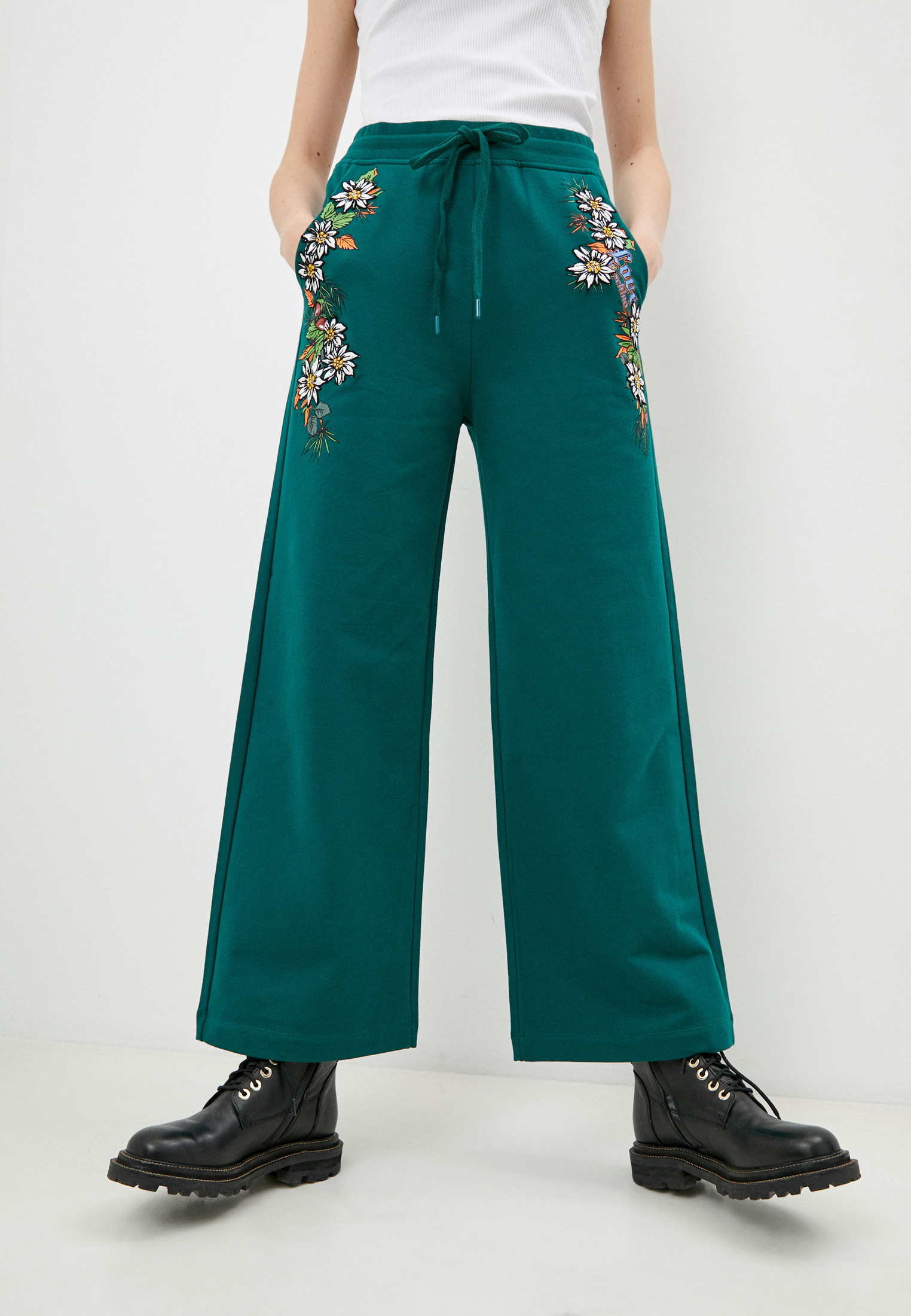Женские спортивные брюки Love Moschino (Лав Москино) W 1 487 01 E 1958