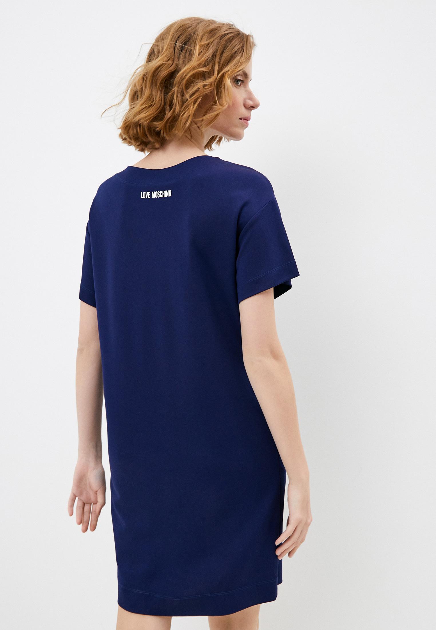 Платье Love Moschino W 5 B11 01 E 2019: изображение 4