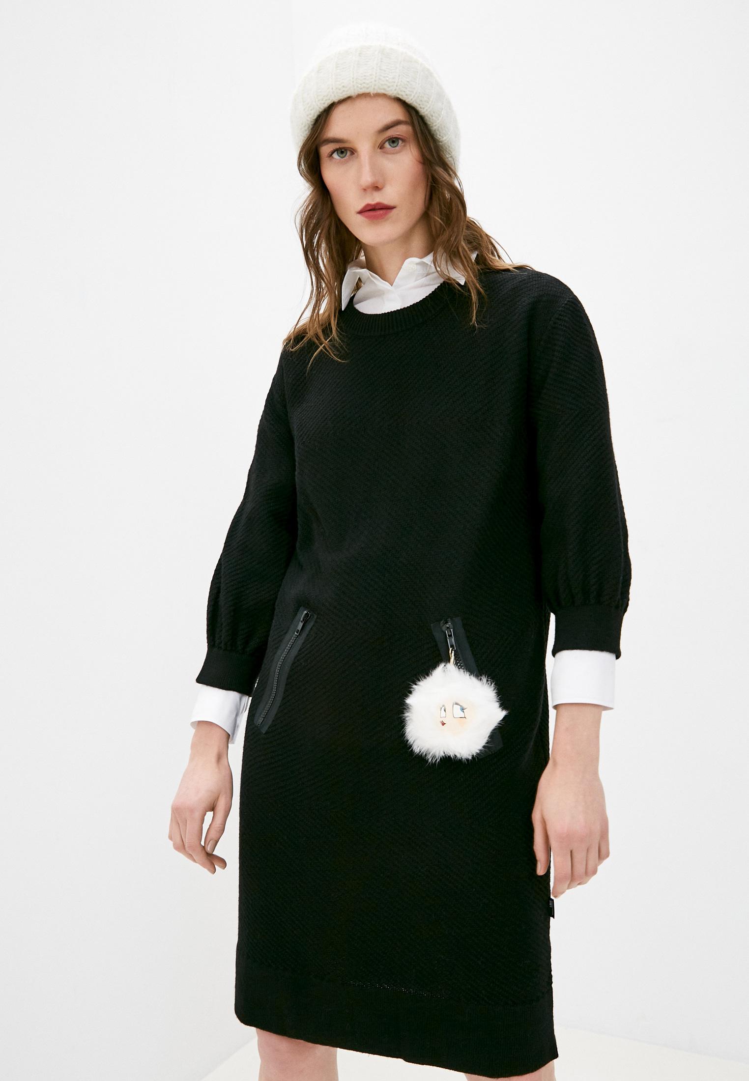 Вязаное платье Love Moschino W S R39 90 X 0683