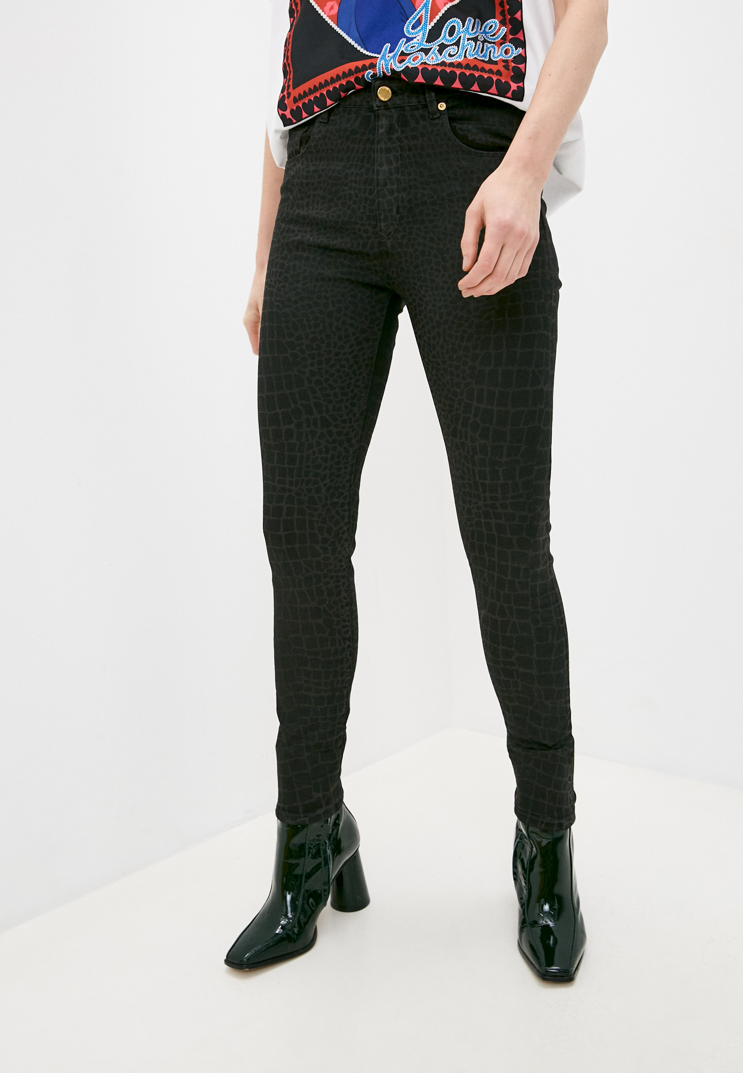 Зауженные джинсы Love Moschino W Q 436 80 S 3349