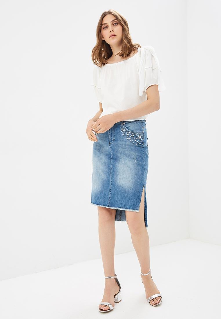 Прямая юбка Lusio SS18-030057: изображение 5