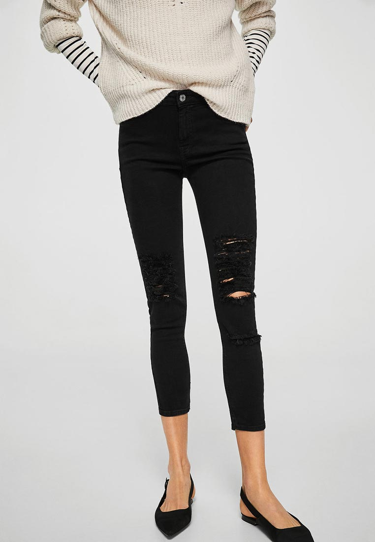 Зауженные джинсы Mango (Манго) 23025652: изображение 1