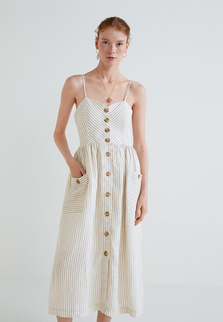 Женские платья-сарафаны Mango (Манго) 33961008