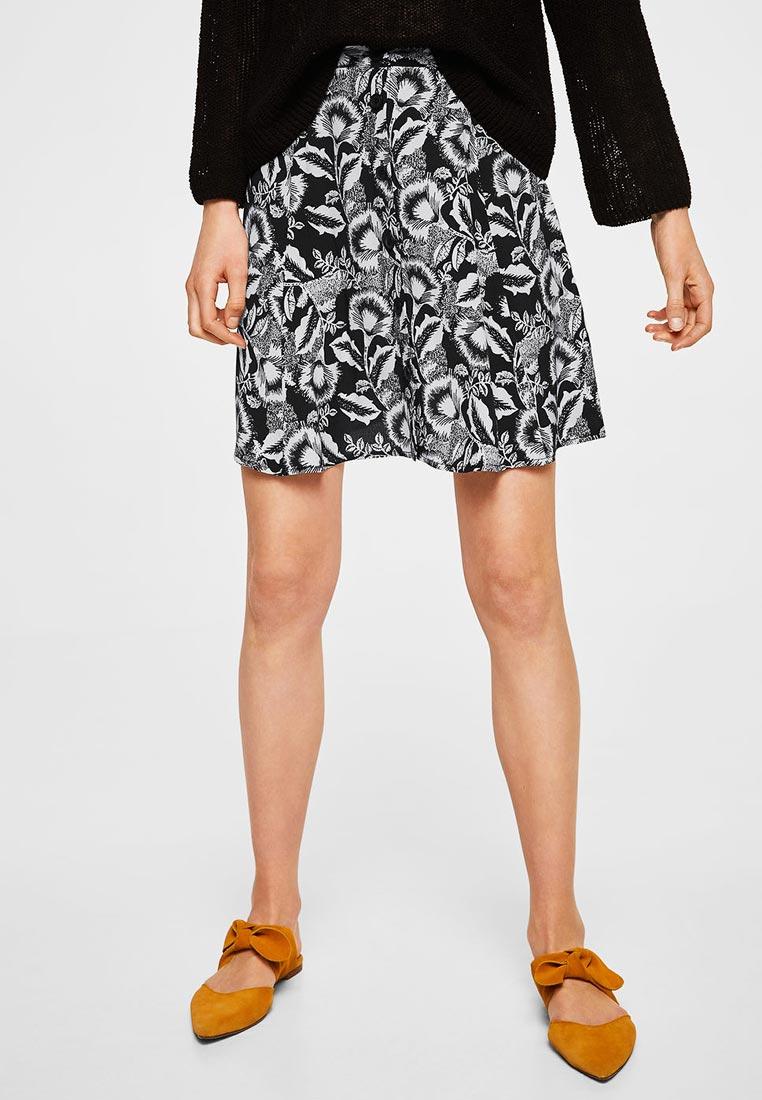 Широкая юбка Mango (Манго) 33090562