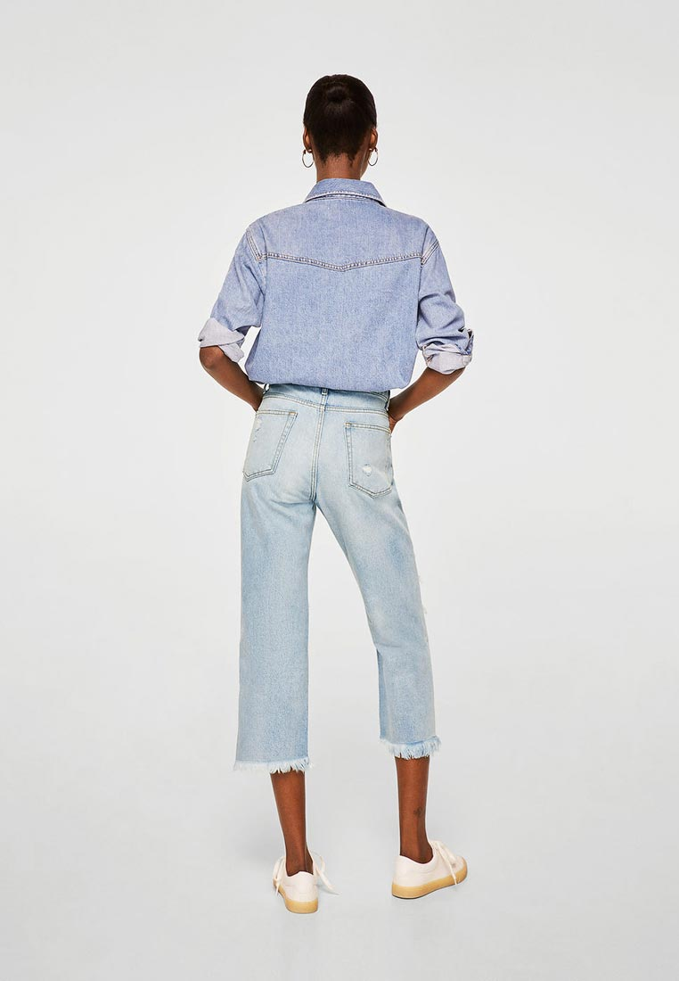 Прямые джинсы Mango (Манго) 33000682: изображение 2