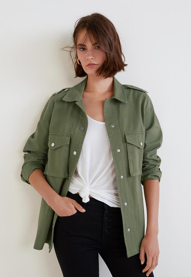 Женские рубашки с длинным рукавом Mango (Манго) 33080673