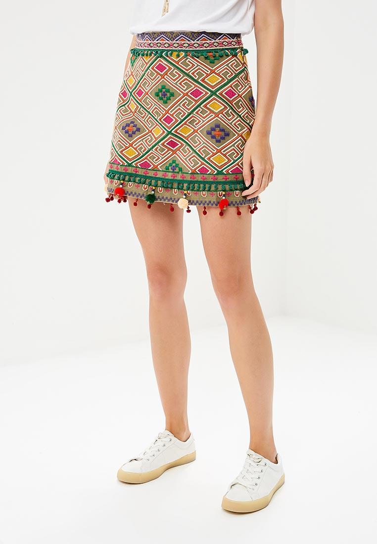 Прямая юбка Mango (Манго) 33020764