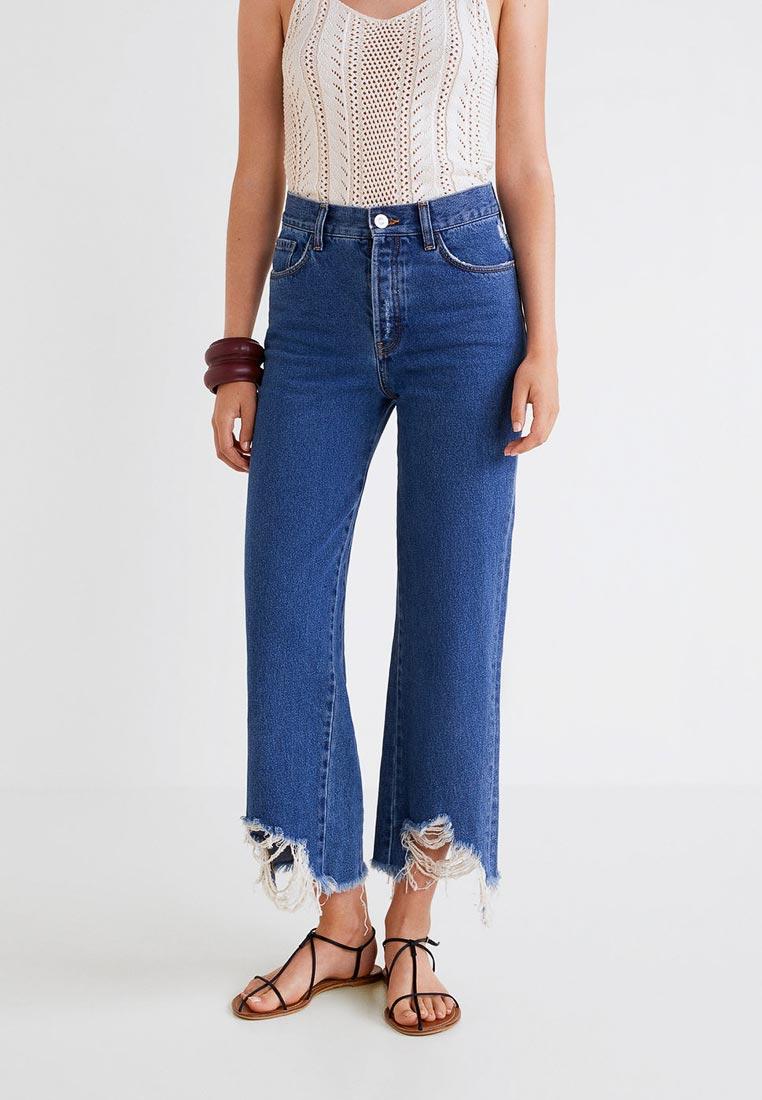 Широкие и расклешенные джинсы Mango (Манго) 33000526