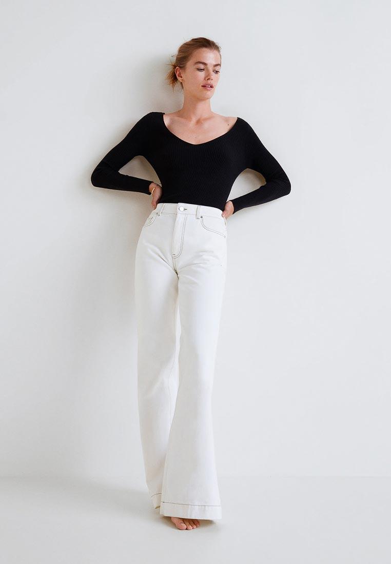 Широкие и расклешенные джинсы Mango (Манго) 33053054
