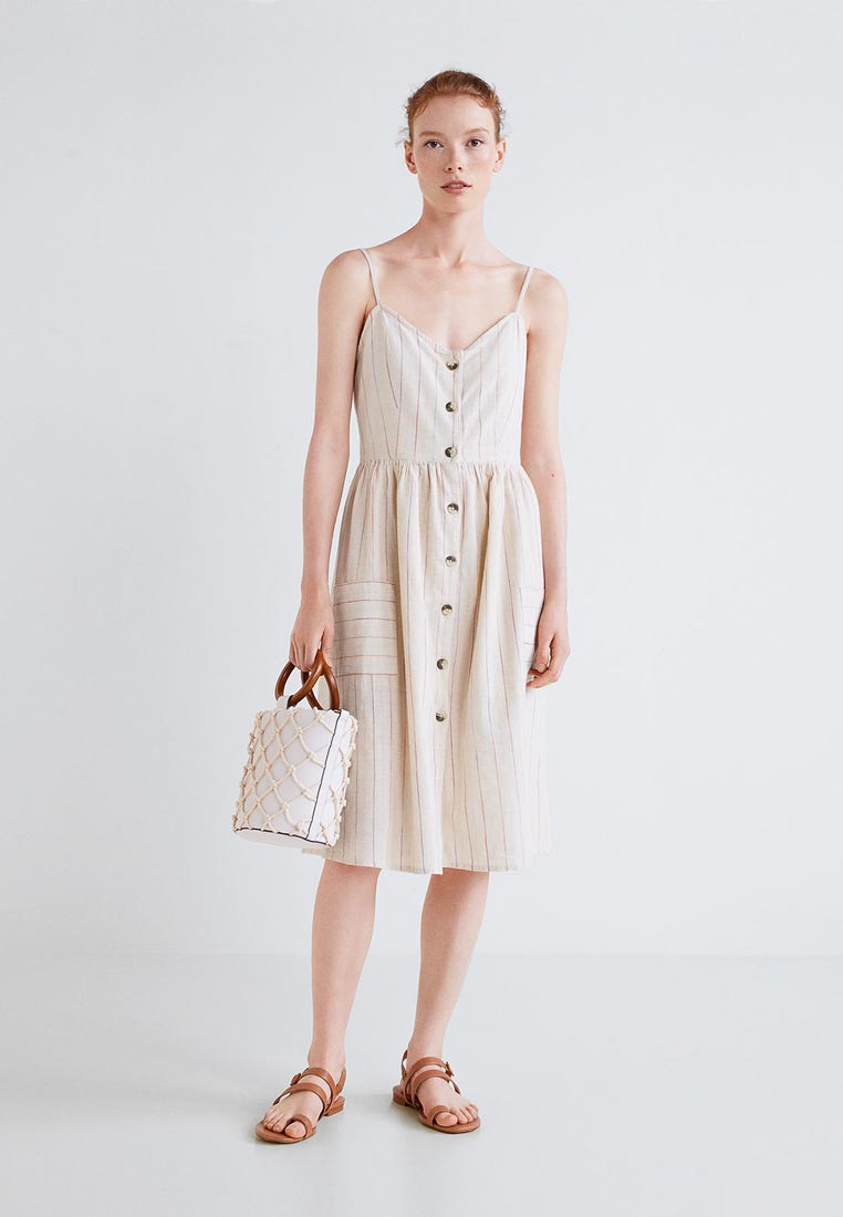 Женские платья-сарафаны Mango (Манго) 33090650