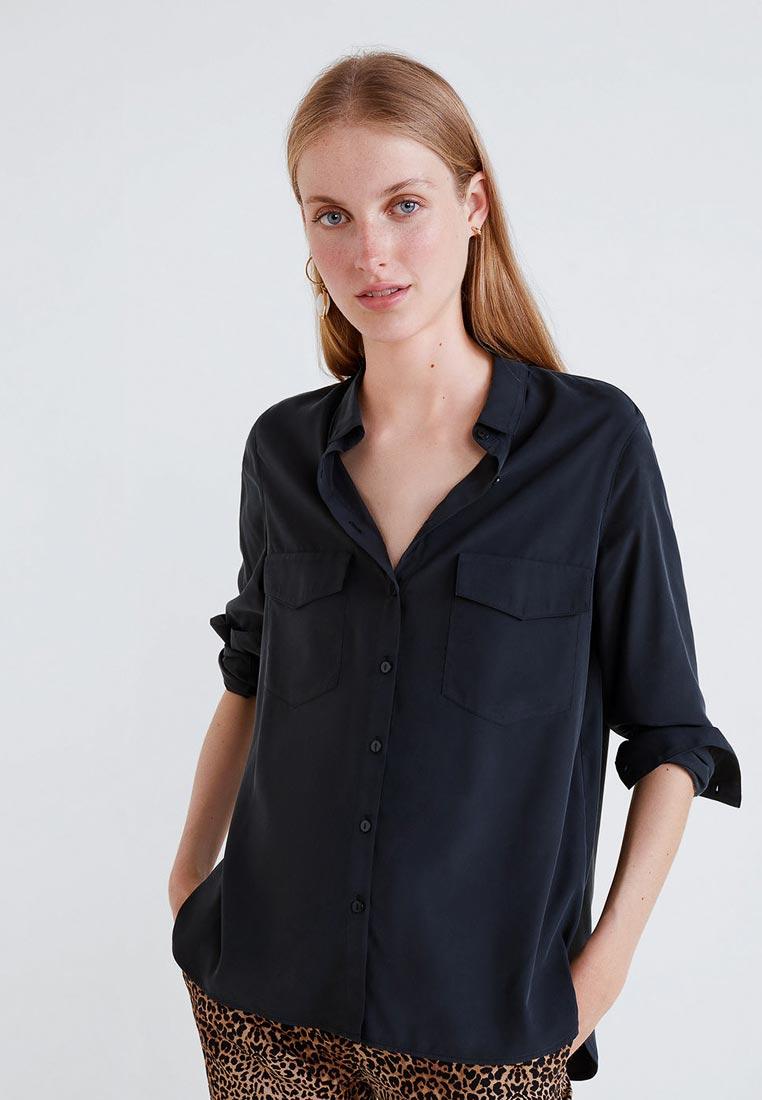 Женские рубашки с длинным рукавом Mango (Манго) 33093790