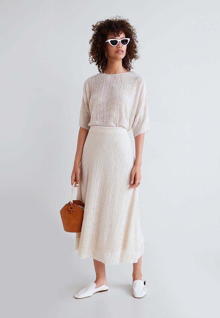 Широкая юбка Mango (Манго) 31083785
