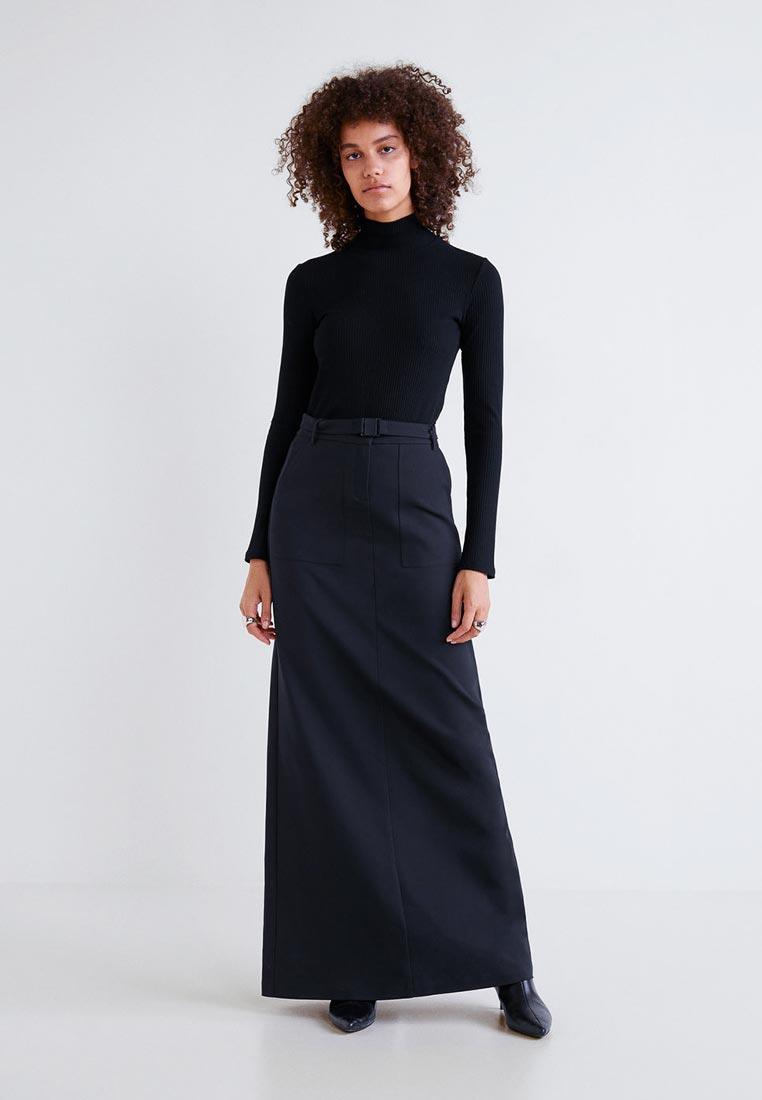 Прямая юбка Mango (Манго) 33043730
