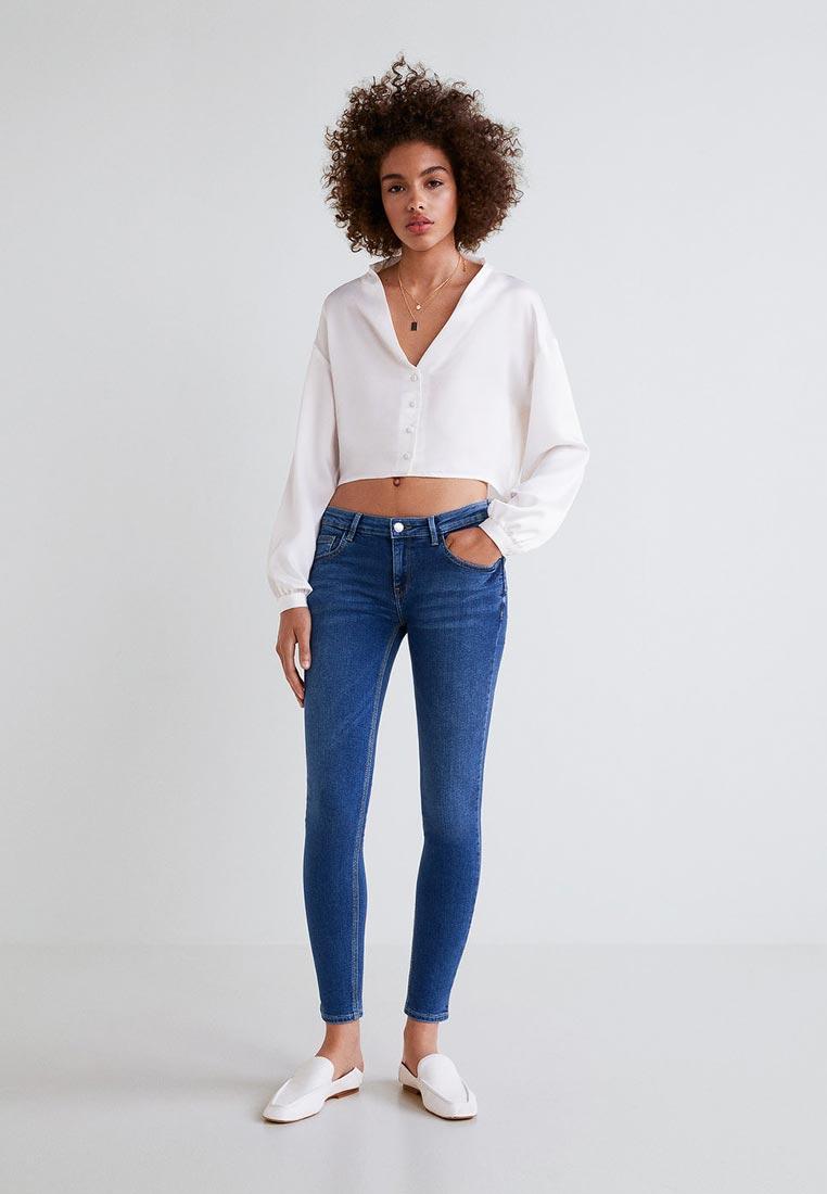 Зауженные джинсы Mango (Манго) 33013707