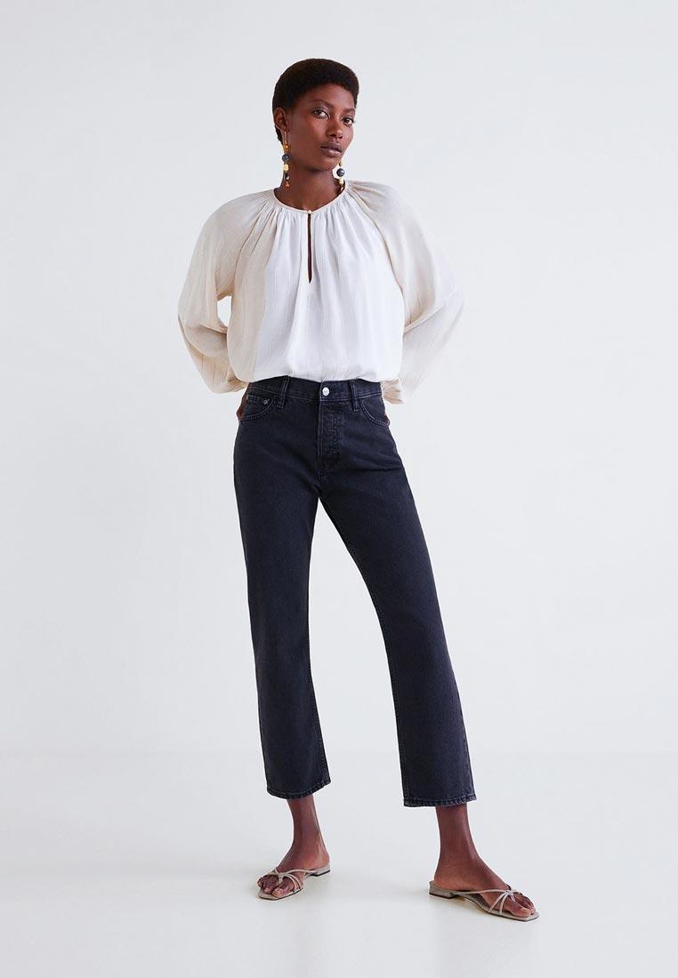 Прямые джинсы Mango (Манго) 33045710