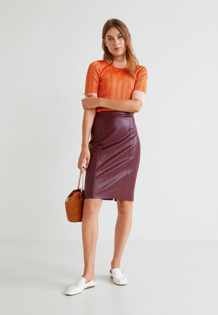 Прямая юбка Mango (Манго) 33053793