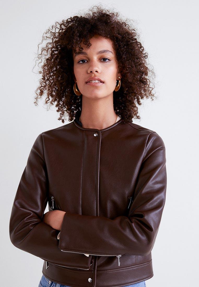 Кожаная куртка Mango (Манго) 33063021
