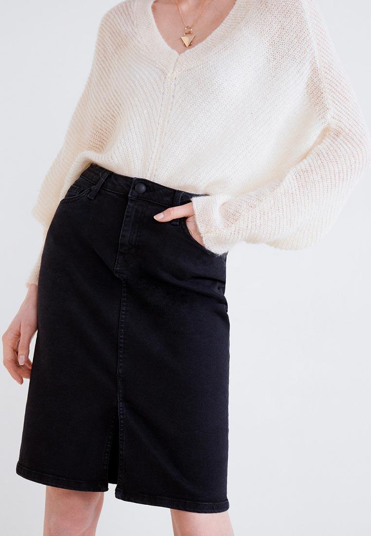 Прямая юбка Mango (Манго) 33043645