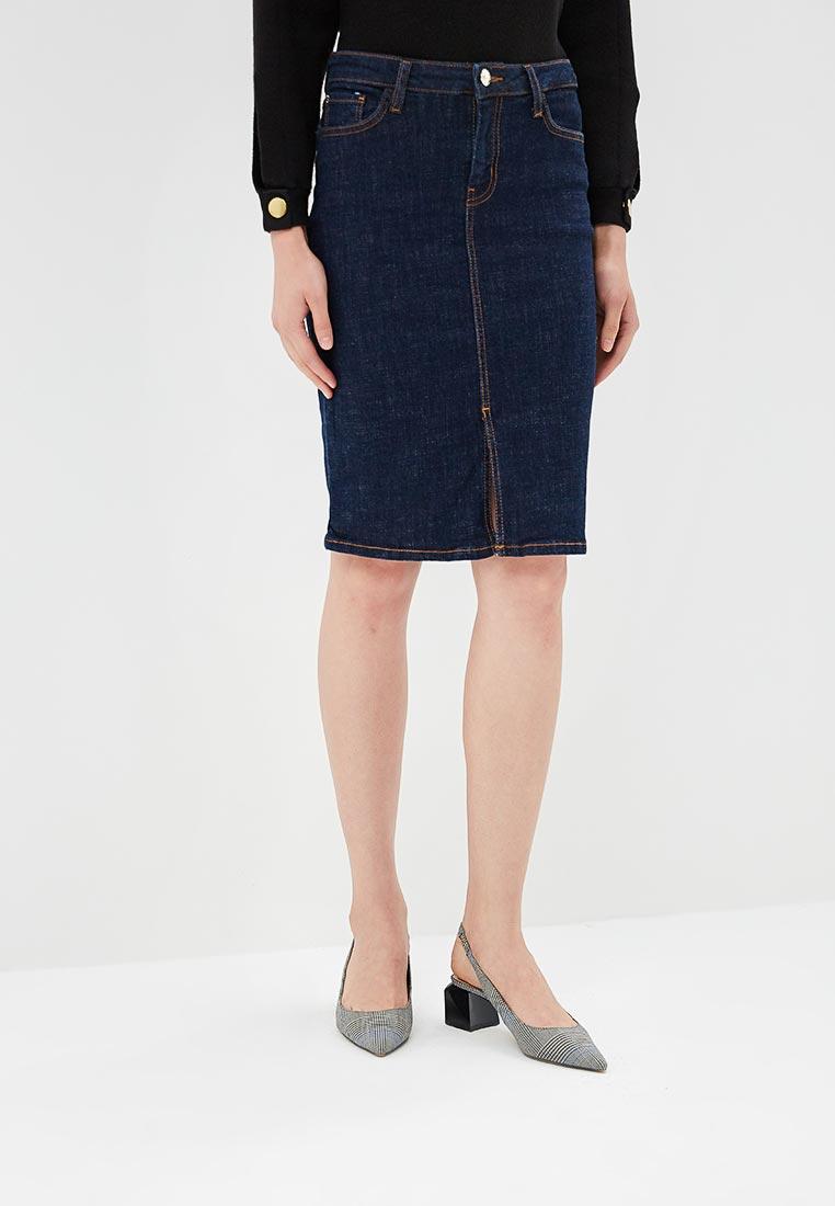 Джинсовая юбка Mango (Манго) 33083696
