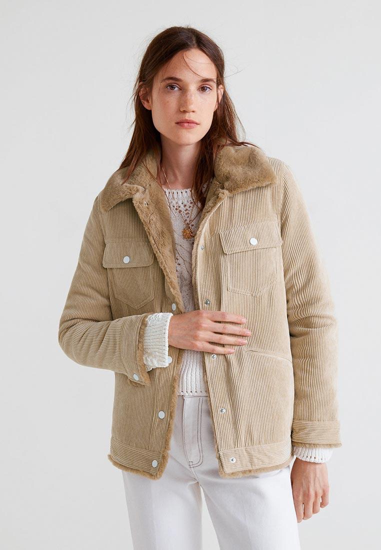 Утепленная куртка Mango (Манго) 33095711