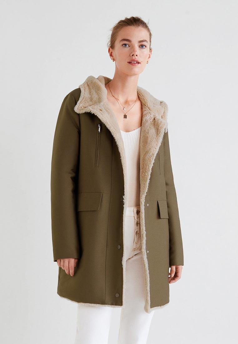 Утепленная куртка Mango (Манго) 33085711