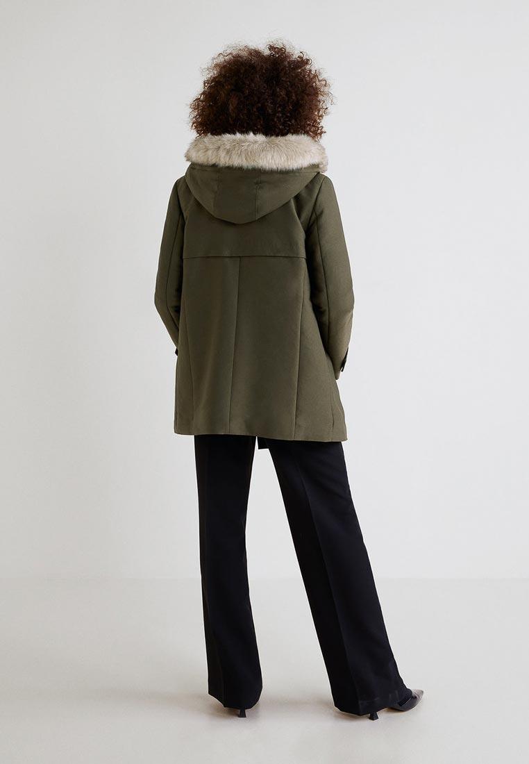 Утепленная куртка Mango (Манго) 33083707: изображение 3