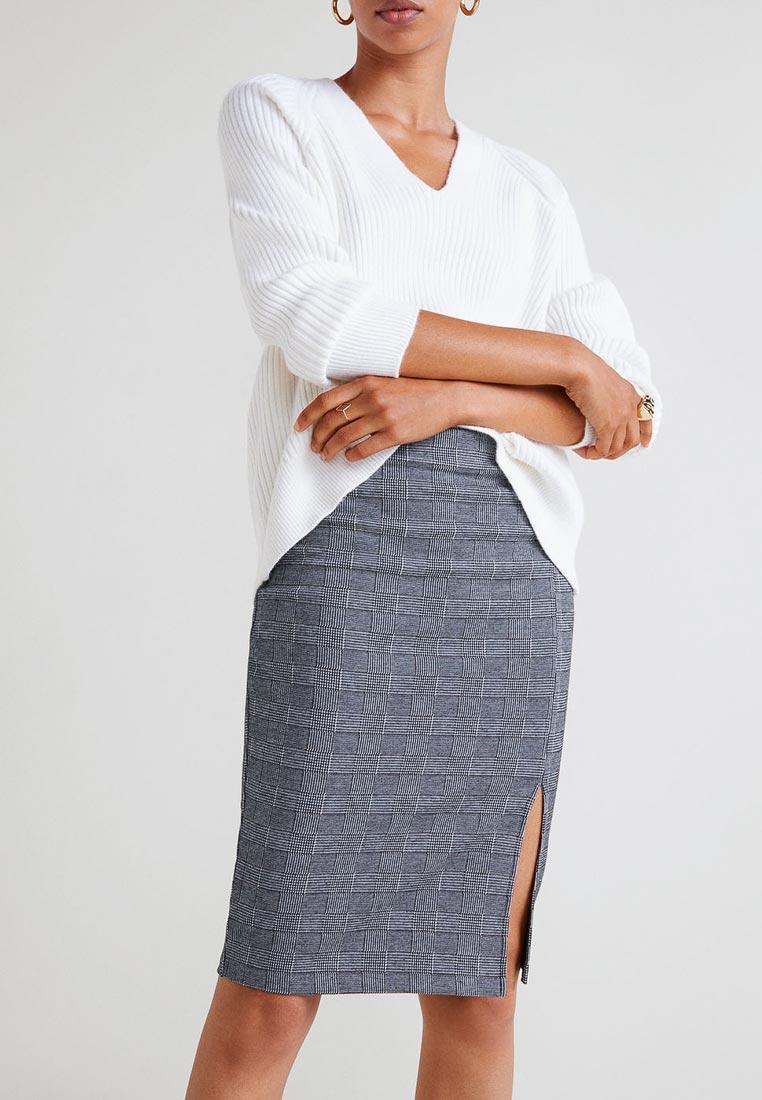 Прямая юбка Mango (Манго) 31043781