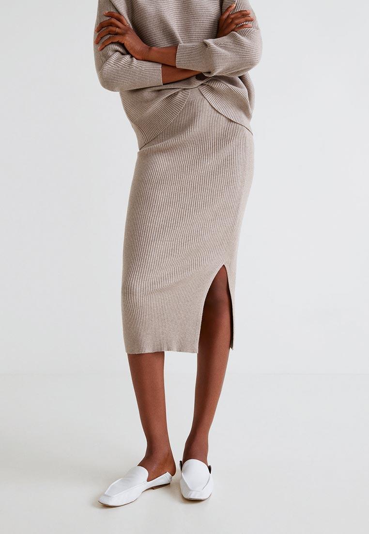 Узкая юбка Mango (Манго) 33073762