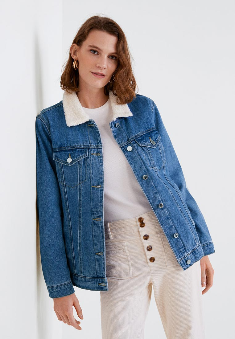 Джинсовая куртка Mango (Манго) 33075709