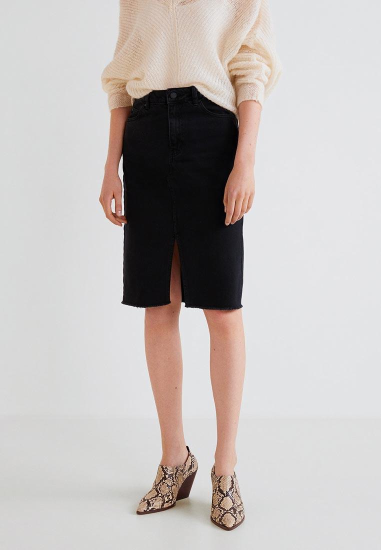 Прямая юбка Mango (Манго) 33063695