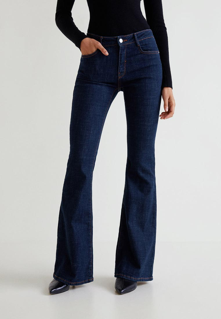 Широкие и расклешенные джинсы Mango (Манго) 33005724