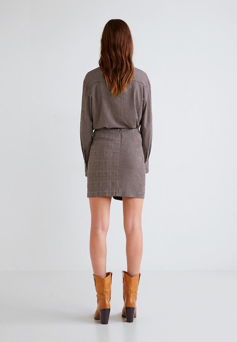 Прямая юбка Mango (Манго) 33045778
