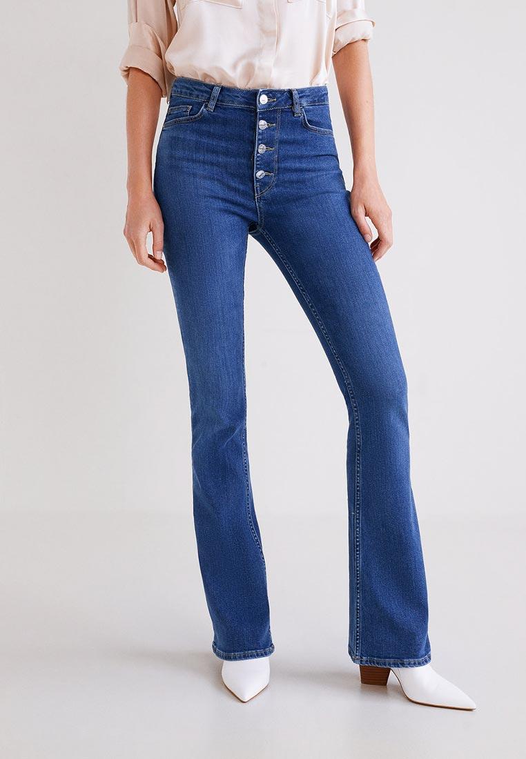 Широкие и расклешенные джинсы Mango (Манго) 33075755