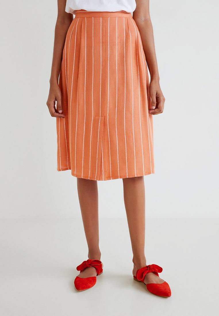 Широкая юбка Mango (Манго) 43090567