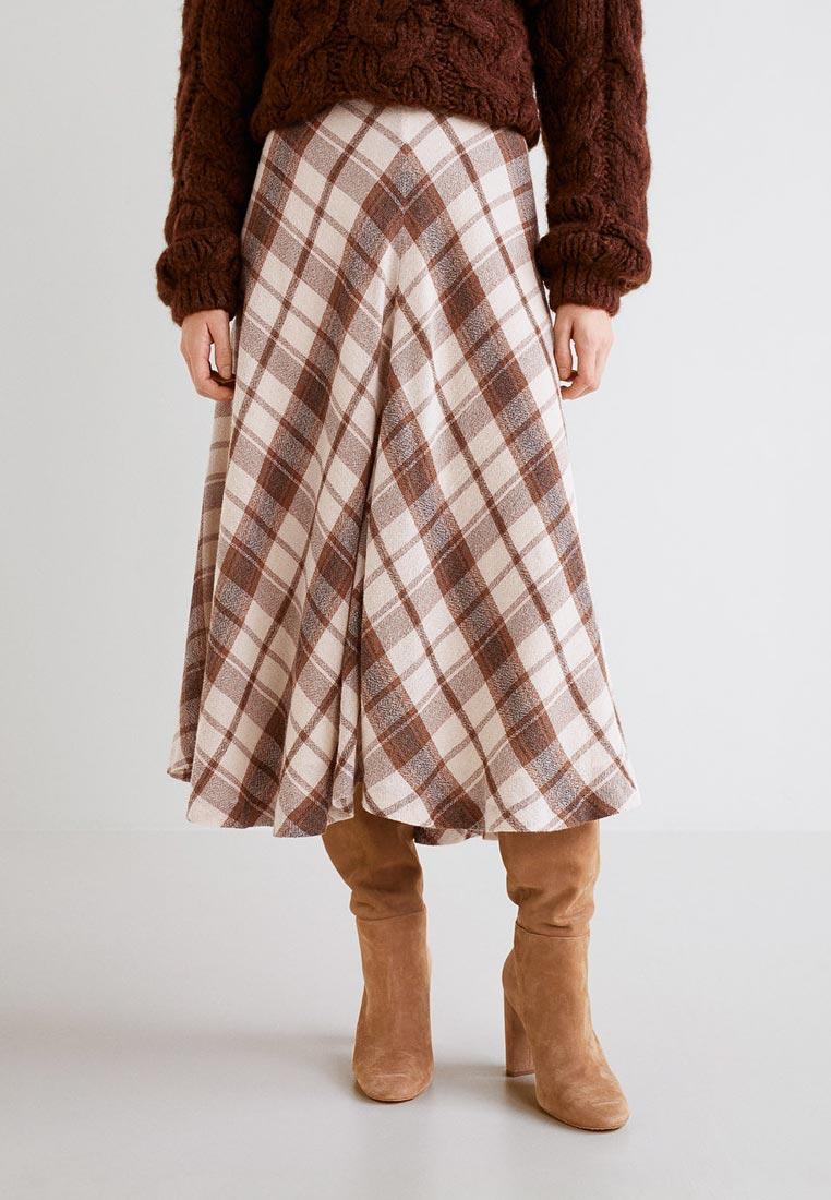 Широкая юбка Mango (Манго) 31067032