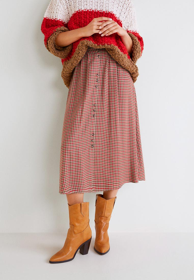 Широкая юбка Mango (Манго) 33065803