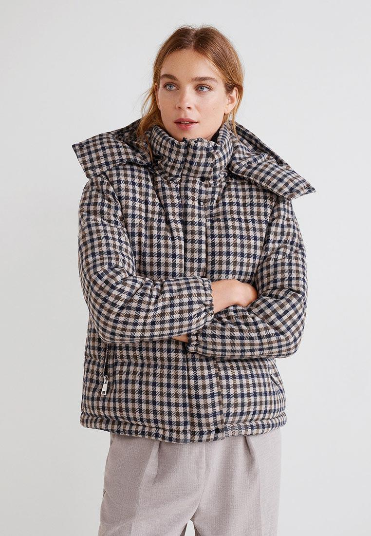Утепленная куртка Mango (Манго) 33977627