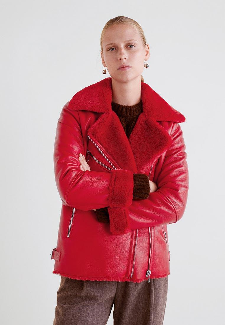 Кожаная куртка Mango (Манго) 33087009