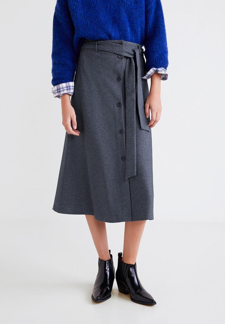 Широкая юбка Mango (Манго) 31077010