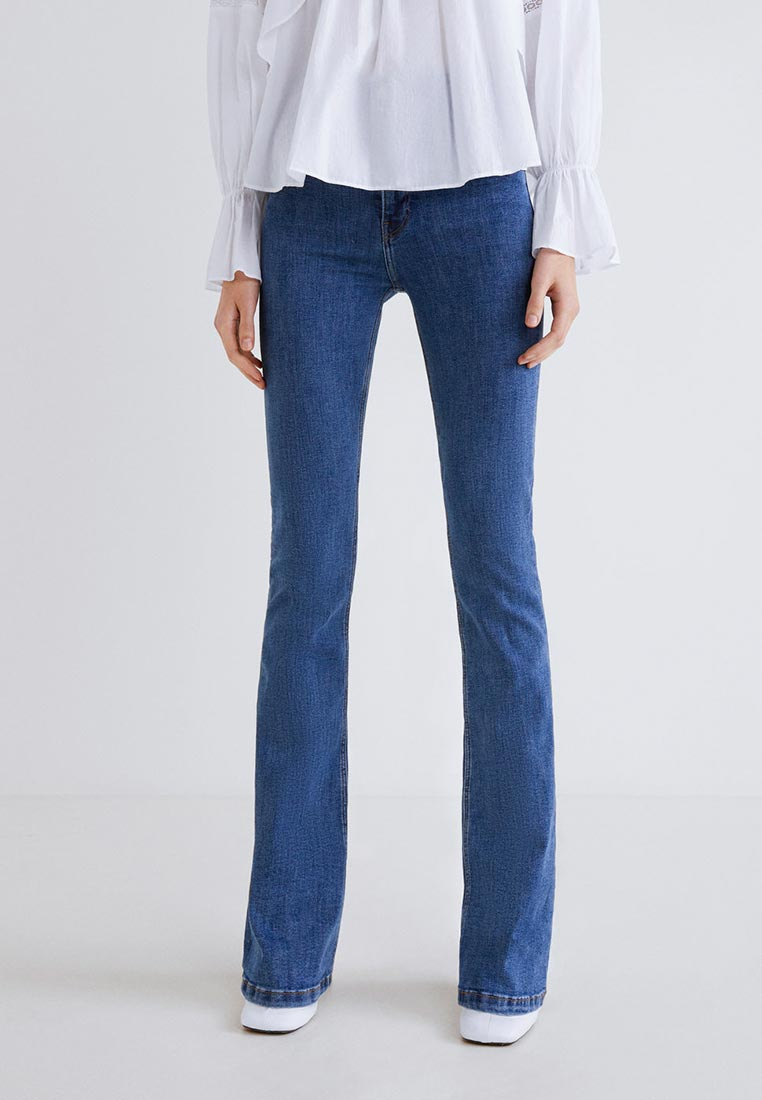 Широкие и расклешенные джинсы Mango (Манго) 43000639