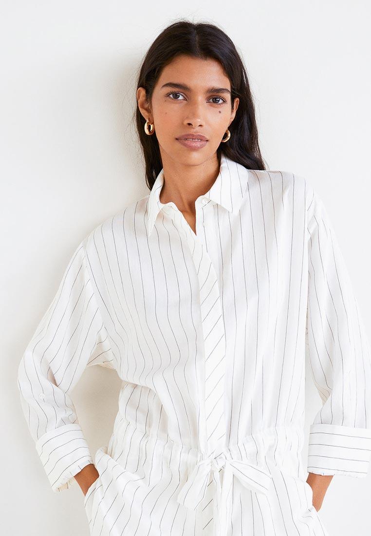 Женские рубашки с длинным рукавом Mango (Манго) 41020843