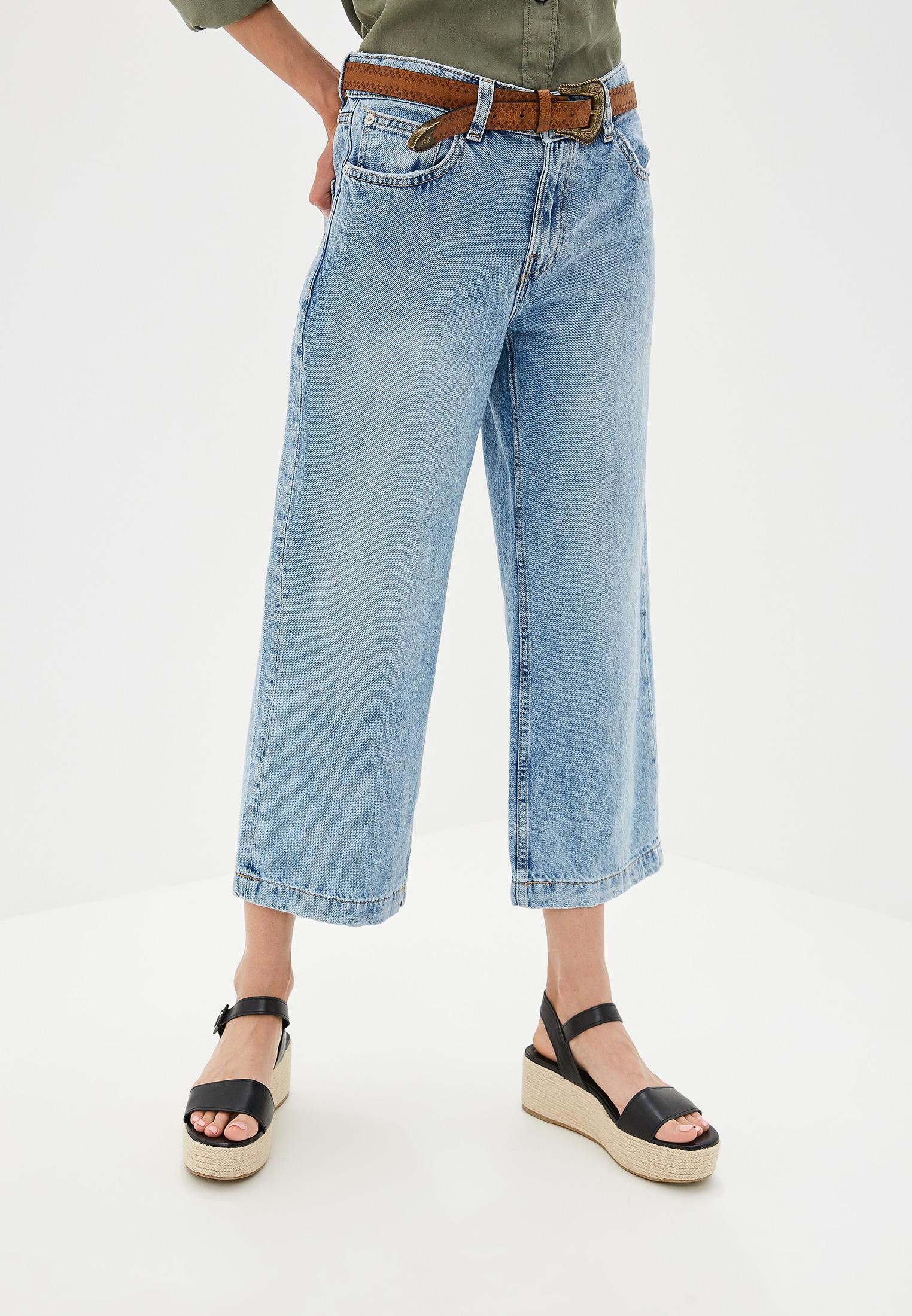 Широкие и расклешенные джинсы Mango (Манго) 53063697